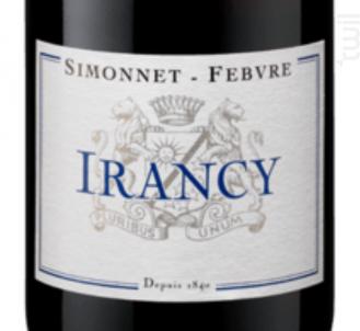 Irancy - Simonnet Febvre - 2015 - Rouge