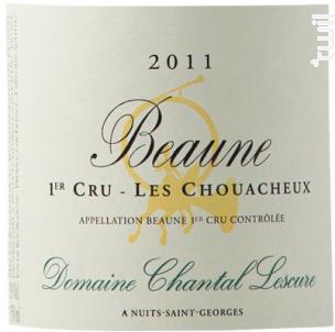 Beaune 1er Cru Les Chouacheux - Domaine Chantal Lescure - 2013 - Rouge