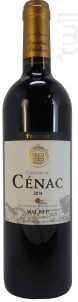 Château de Cénac Cuvée Prestige - Vignobles Pelvillain - 2014 - Rouge