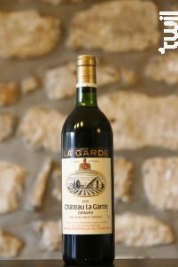 Château La Garde - Vignobles Dourthe - Château La Garde - 1981 - Rouge