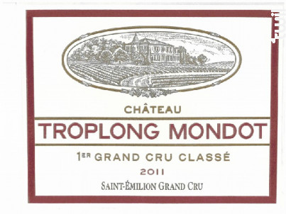 Château Troplong Mondot - Château Troplong Mondot - 2011 - Rouge