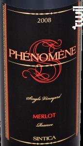 Phénomène Merlot - Sintica Winery - 2015 - Rouge