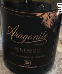Aragonite - Domaine Bénazeth - 2016 - Rouge