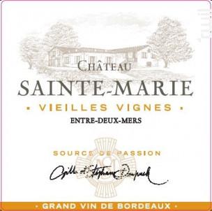 Château Sainte-Marie - Château Sainte-Marie - 2020 - Blanc