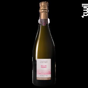 Champagne rosé œil de perdrix - CHAMPAGNE DEHOURS - Non millésimé - Effervescent