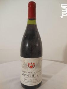 Monthélie Carolus Le Bon - L. Métairie - 1995 - Rouge