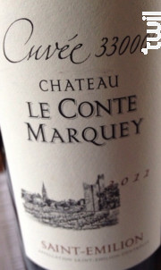 Château le Conte Marquey - Château le Conte Marquey - 2015 - Rouge
