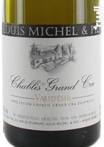CHABLIS Grand Cru Vaudesir - Louis Michel et Fils - 2016 - Blanc