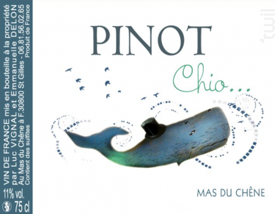 Pinot Chio - Mas du Chêne - 2018 - Rouge