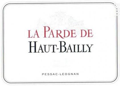 La Parde Haut-Bailly - Château Haut-Bailly - 2016 - Rouge