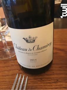Mercurey - Château de Chamirey - 2014 - Rouge