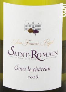 Saint-Romain Sous Le Château - Domaine Rapet François & Fils - 2017 - Blanc