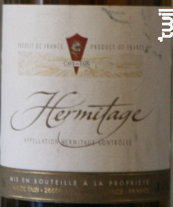 Hermitage - Cave de Tain - 2002 - Rouge