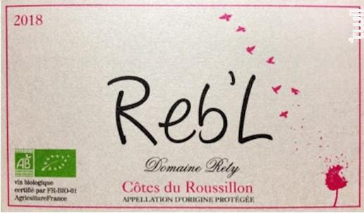 Reb'L - Domaine Rety - 2018 - Rosé