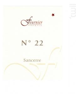 Sancerre N°22 - FOURNIER Père & Fils - 2012 - Rouge