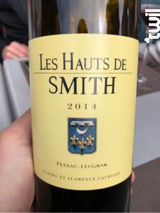 Les Hauts de Smith - Château Smith Haut Lafitte - 2014 - Rouge