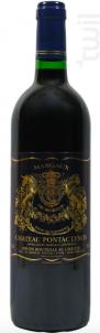 Cru Bourgeois Margaux 2013 - Château Pontac Lynch - 2013 - Rouge