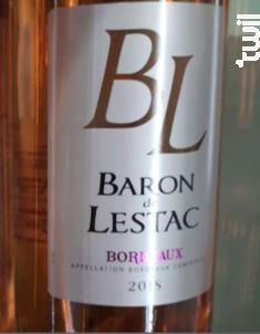 Baron de Lestac - Châteaux et Domaines Castel - 2018 - Rosé
