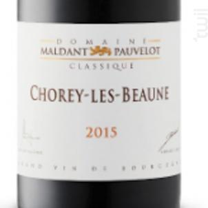 CHOREY-LÈS-BEAUNE - Domaine Maldant - Pauvelot - 2016 - Rouge