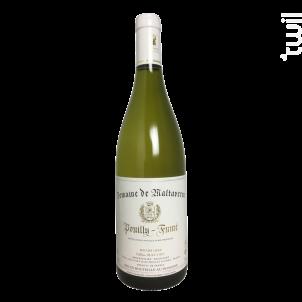 Maltaverne Pouilly Fumé - Domaine de Maltaverne - 2017 - Blanc