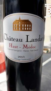 Haut Medoc - Château Landat - Domaines Fabre - 1995 - Rouge
