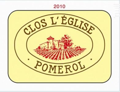 Clos l'Eglise - Vignobles Garcin- Château Clos de l'Eglise - 2017 - Rouge