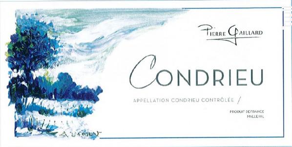 Condrieu - Pierre Gaillard - 2015 - Blanc