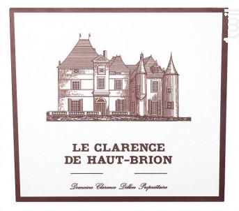 Le Clarence de Haut-Brion - Domaines Clarence Dillon- Château Haut-Brion - 2015 - Rouge