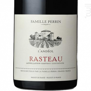 Rasteau - L'andeol - Famille Perrin - Château de Beaucastel - 2017 - Rouge