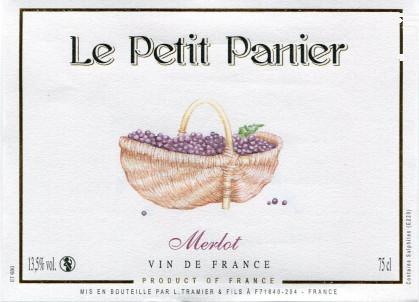 Le Petit Panier Merlot - Maison L. Tramier et Fils - 2017 - Rouge