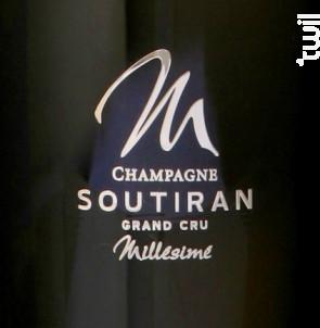 Cuvée Grand Cru Millésime 2008 - Champagne A. Soutiran - 2008 - Effervescent