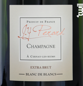 Extra Brut Blanc de Blancs - Champagne J.Y. Perard - Non millésimé - Effervescent