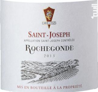 Saint-Joseph - Rochegonde - 2013 - Rouge