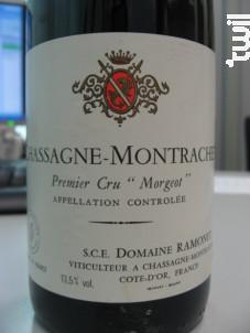 Chassagne-Montrachet Premier Cru Morgeot - Domaine Ramonet - 2015 - Rouge