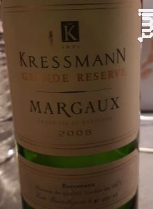 Kressmann Grande Réserve Margaux - Kressmann - 1990 - Rouge