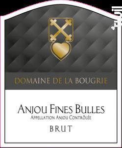 Anjou Fines Bulles Brut - Domaine de la Bougrie - Non millésimé - Effervescent