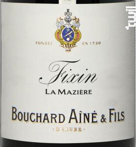 Fixin Mazière - Bouchard Aîné et Fils - 2018 - Rouge