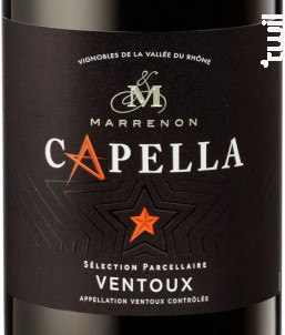 Capella - Marrenon - 2016 - Rouge