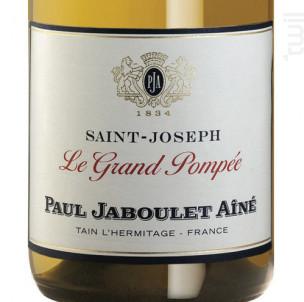La Grande Pompée Saint-Joseph - Paul Jaboulet Aîné - 2018 - Blanc