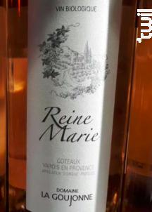 Reine Marie - Domaine La Goujonne - 2018 - Rosé