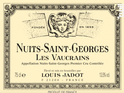 NUITS SAINT GEORGES LES VAUCRAINS