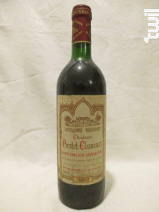 Château Pontet Clauzure - Château Pontet Clauzure - 1989 - Rouge