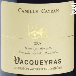 Vacqueyras - Cave de Cairanne - 2015 - Rouge