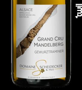 Gewurztraminer Grand Cru Mandelberg - Scheidecker et Fils - 2018 - Blanc