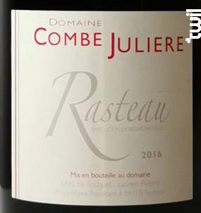 Tradition - Domaine de la Combe Julière - 2016 - Rouge