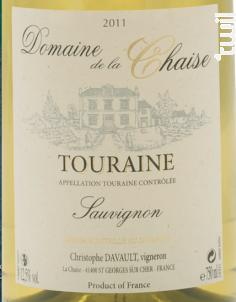 Sauvignon - Domaine de la Chaise - 2018 - Blanc