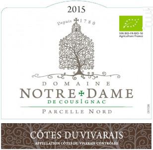 Domaine Notre Dame de Cousignac - Maison Ogier - 2016 - Rouge