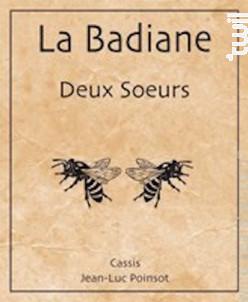 Deux Soeurs - Domaine La Badiane - 2014 - Blanc