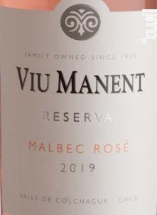 Estate Collection Reserva - Malbec Rosé - Viu Manent - 2019 - Rosé