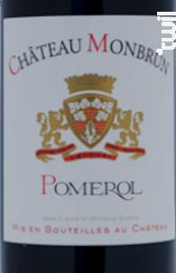 Château Monbrun - Château Monbrun - 2014 - Rouge